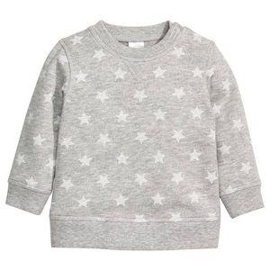 Organic Cotton Star Sweatshirt | 12-18M | EUC
